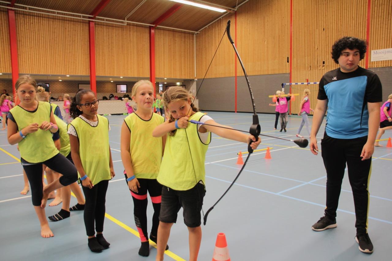 Archery Op Vrijdag Georganiseerd Door Team4Talent